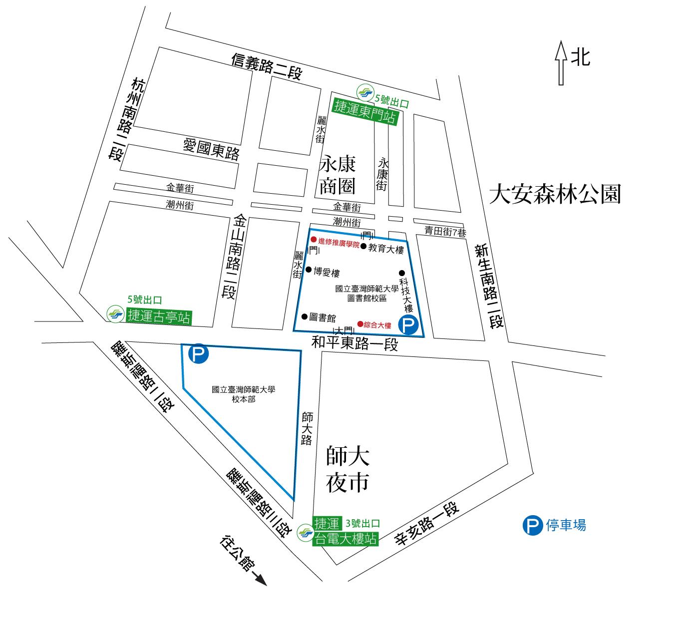 交通導覽圖